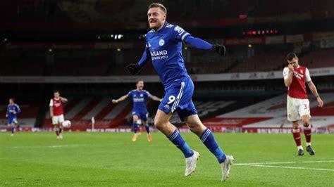 'World-class' Vardy rocks Arsenal as Leicester go fourth