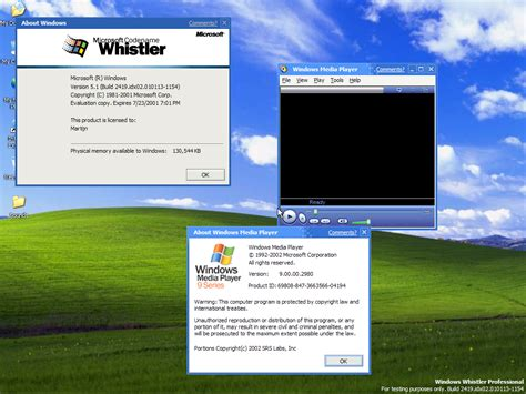 View Topic  Windows Media Player 9 On Windows Whistler