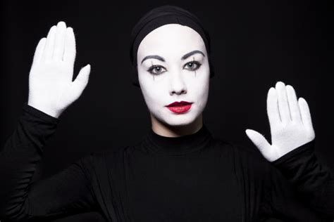 Mime Makeup