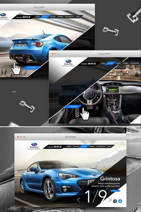 automotive website designs   inspiration hongkiat