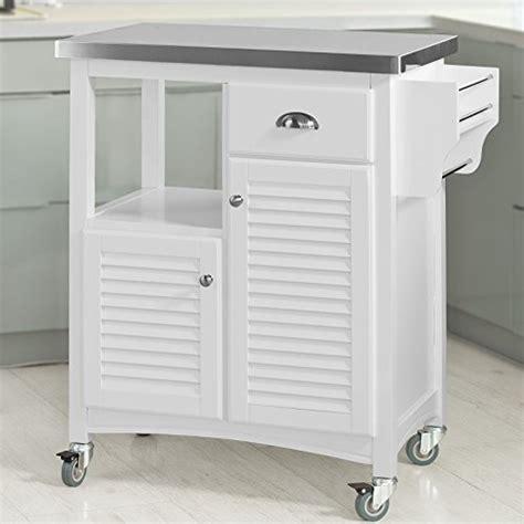 armoire de rangement cuisine sobuy fkw37 w desserte sur roulettes meuble chariot de