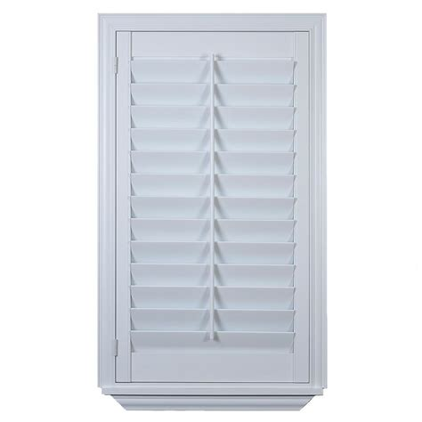 Home Depot Interior Window Shutters by Custom Plantation Shutter Installation At The Home Depot