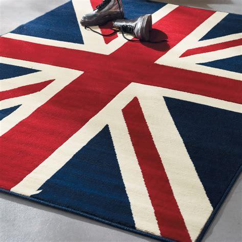 tappeto bandiera inglese union rug 140x200 maisons du monde
