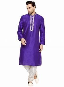 Pyjama Party Outfit : buy violet art silk kurta pyjama eid party wear kurta pyjama online shopping kpmarc2672 ~ Eleganceandgraceweddings.com Haus und Dekorationen