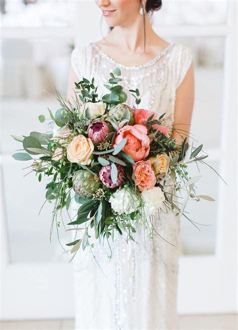 20 Gorgeous Protea Wedding Bouquets Southbound Bride