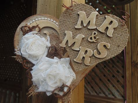 Wedding Cake Topper-rustic Burlap And Lace By
