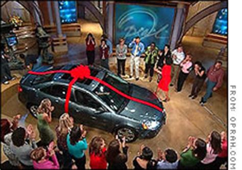 Oprah Gives Cars by Winners Of Oprah Car Give Away Must Pay Up To 7 000 Tax