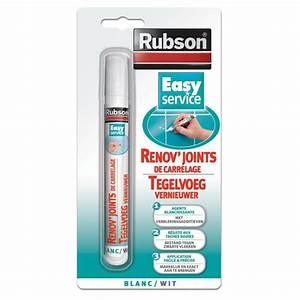 rubson renov39joints de carrelage blanc 7ml achat vente With rubson joint salle de bain
