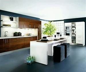 New home designs latest kitchen cabinets designs modern for Images of modern kitchen designs