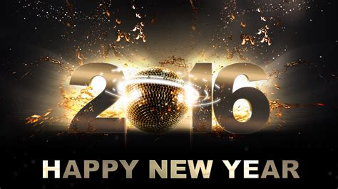 Happy New Year 2016 Hd Wallpapers For Desktop Mobile