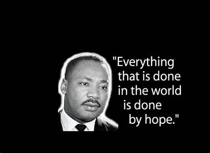 Luther Martin King Quotes Hope Famous Mlk
