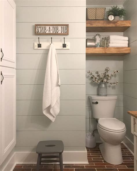 Bathrooms Decor Ideas by 47 Beautiful Farmhouse Bathroom Design And Decor Ideas You