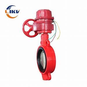 China Fire Protection Piping Manual Handlebar Wcb Control