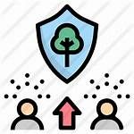 Awareness Icon Icons Premium Lineal