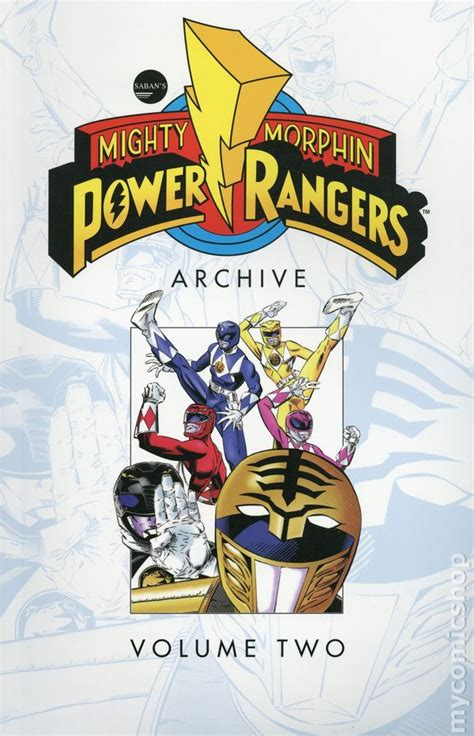 Mighty Morphin Power Rangers Archive TPB (2018 Boom ...