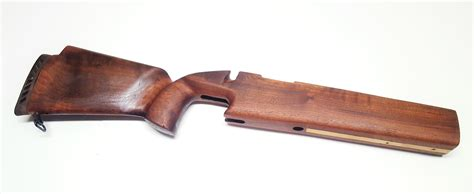 remington firearms remington  bedded target wood stock  good condition
