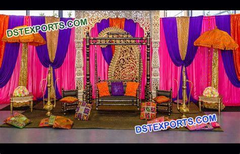 mehandi stage decoration mandap exporters