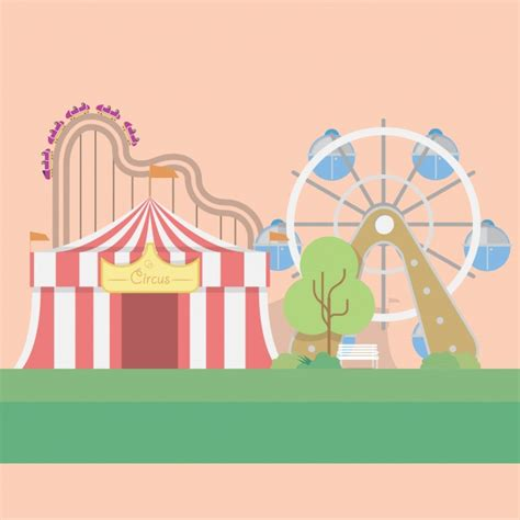 Circus Background Circus Background Design Vector Free