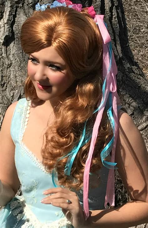 couture enchanted giselle curtain curl updo wig etsy