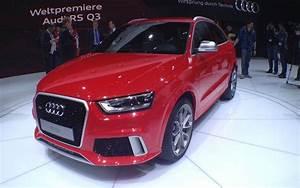 Audi Q1 Occasion : audi rs q3 du concept au mod le de s rie guide auto ~ Medecine-chirurgie-esthetiques.com Avis de Voitures