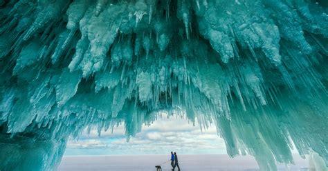 peninsula upper michigan national ice caves apostle islands winter shi park change island lakeshore hidden animals interior coming superior visit