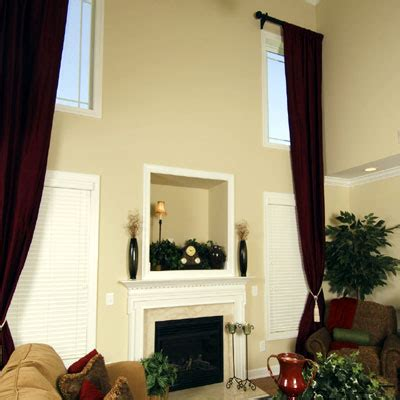 two story curtains custom 2 story drapes curtains raleigh how