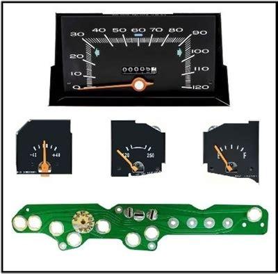 Ammeter Fuel Gauge Temperature Speedometer