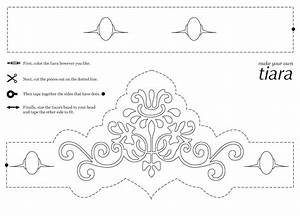 rebekah grace october 2012 With free printable tiara template