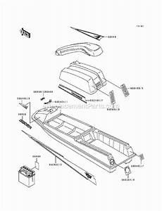 Kawasaki Js550-b1 Parts List And Diagram