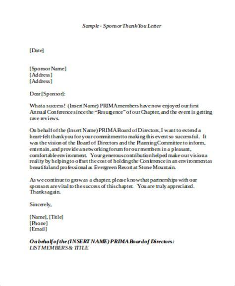 sample sponsorship   letter  examples  word