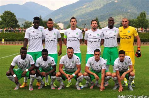 equipe de st etienne photos foot equipe etienne 19 07 2015 etienne mayence match amical