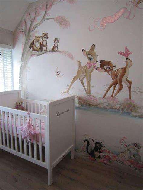 bambi wall mural baby