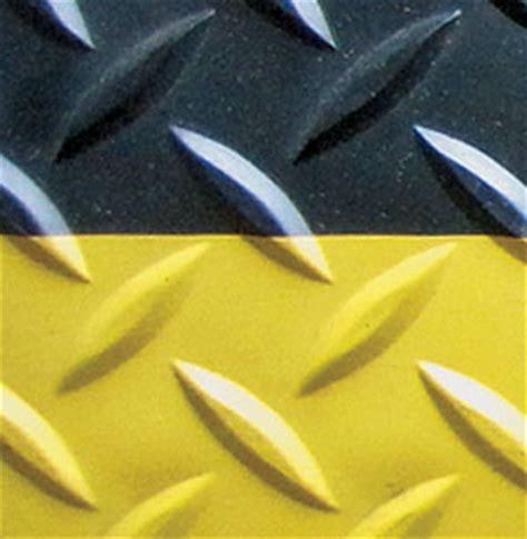 diamond plate safety step  anti fatigue matting van