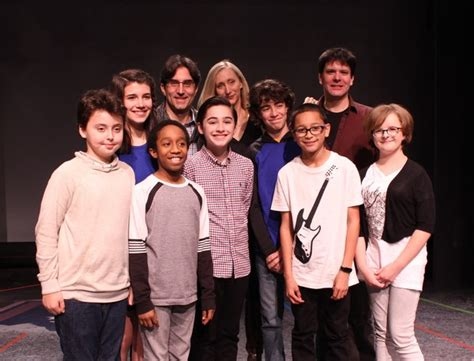 milly shapiro related to ben shapiro photo flash meet the young cast of york theatre company s