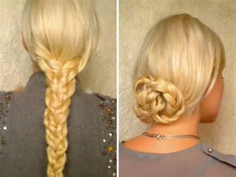 hair tutorial  long hair easy heatless hairstyles