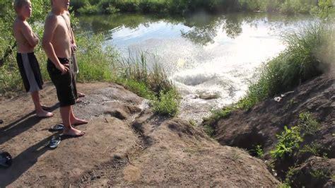 Girl Wrecks Hard Bike Jump Youtube