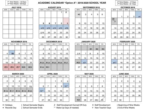 Board Discusses 2019–2020 Student Academic Calendar
