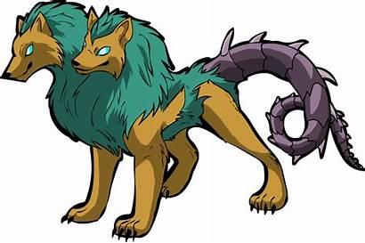 Orthrus Mythology Greek Headed Dog Echidna Deviantart
