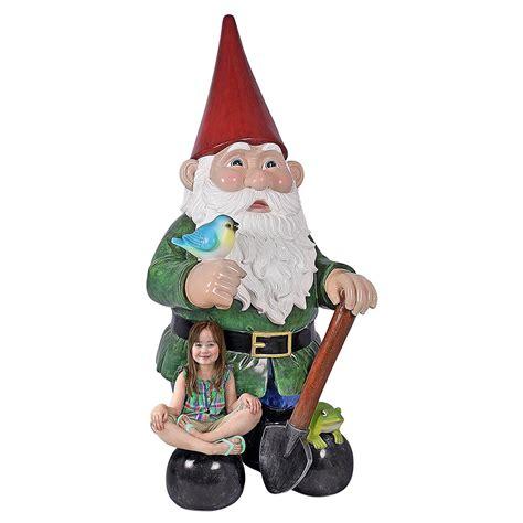 Massive 8.5 Feet Tall Garden Gnome Statue - The Green Head