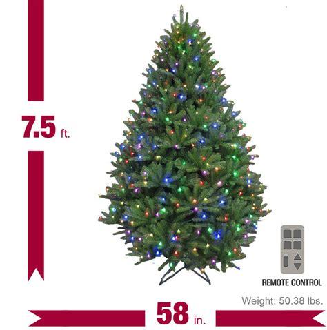 7 5 ft pre lit led california cedar artificial christmas