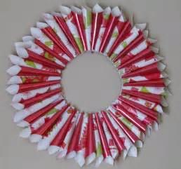 diy christmas wreath holiday gift wrap wreath arts craft 7 youtube