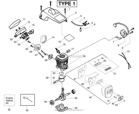 aypelectrolux  le  predator le type    parts diagram  engine type