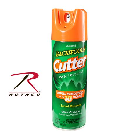 mosquito repelents cutter unscented backwoods insect repellent aerosol
