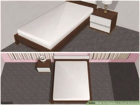 How To Organize Bedroom 4 ways to organize a small bedroom wikihow