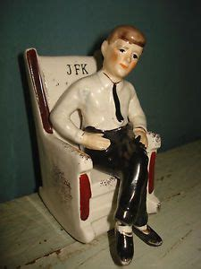 vintage jfk rocking chair salt pepper shaker 1962 arrow japan f kennedy on popscreen