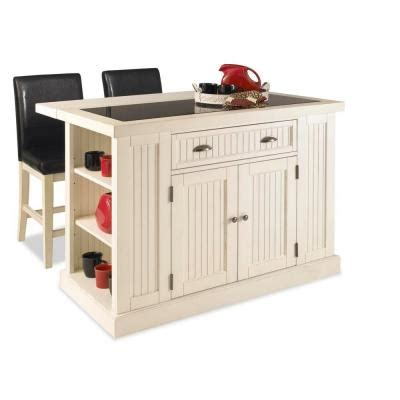 kitchen islands home depot home styles nantucket kitchen island in distressed white