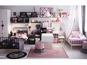 comment decorer une chambre pour 2 filles With comment decorer une chambre de fille
