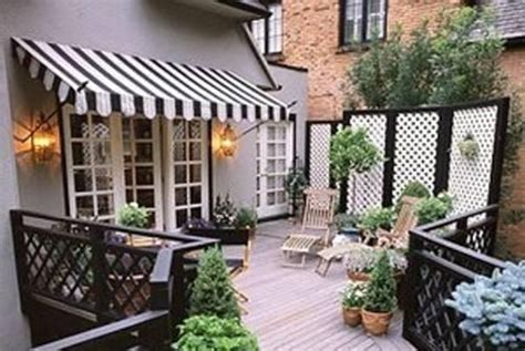 French Door Awning... I Want A Backyard