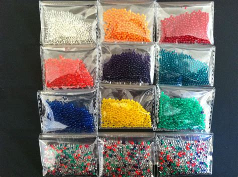 20g 3packets water balls crystal pearls jelly gel beads