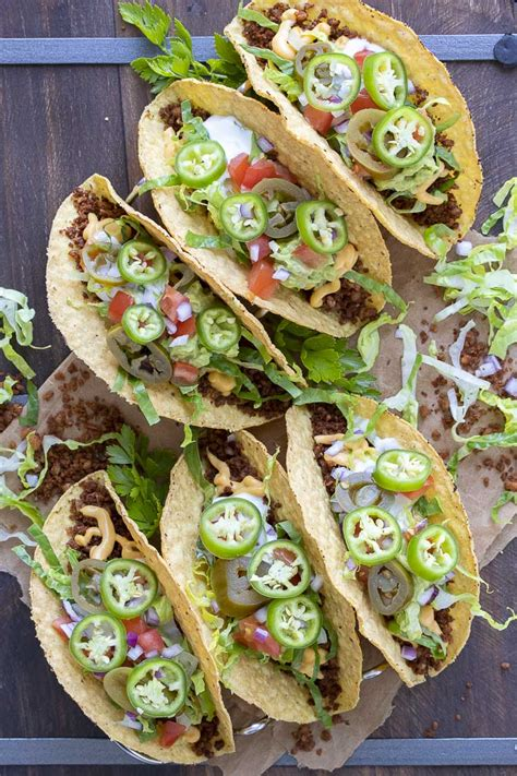 The top 35 ideas about low cholesterol vegetarian recipes. Low-Fat Vegan Taco Meat (Made with Whole Foods) - Veggies Don't Bite